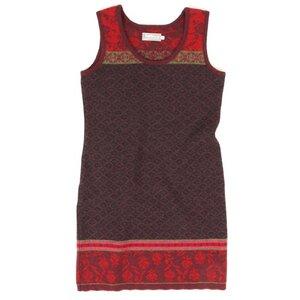 Trägerkleid aus Wolle - FLOMAX
