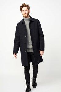 Wollmantel - Coat Collbran - LangerChen