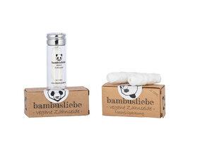 Vegane Zahnseide +  Nachfüllpack - bambusliebe
