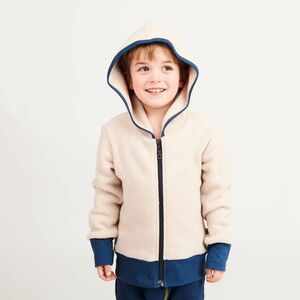"Fleecejacke aus Bio-Baumwolle ""Fleece Nude meliert"" - Cheeky Apple"