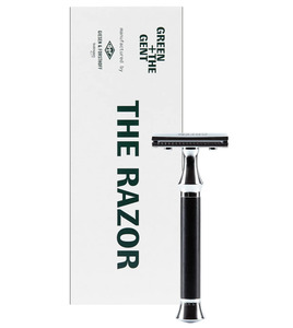 The Razor Vintage-Rasierhobel aus Ebenholz - GREEN + THE GENT