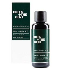Gesichts- und Rasieröl für Herren mit Bio-Ölen - GREEN + THE GENT