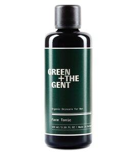 Gesichtswasser und Aftershave für Herren mit Aloe Vera - GREEN + THE GENT