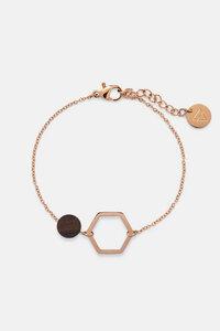 Armband mit Holzelement 'TWIN BRACELET' - Kerbholz