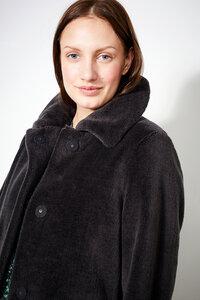 Mantel aus Wolle - Coat Clovelly Chinchilla - Grau - LangerChen