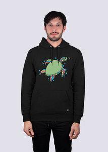 Herren Premium Hoodie, Schildkröte, aus Bio-Baumwolle - vis wear