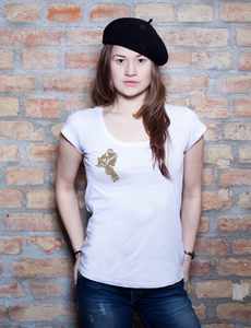 Asian Woman 2nd T-Shirt - EarthPositive