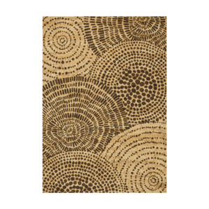 "Korkteppich ""Shapes XI - Circle Collection"" (eckig, natur) - Corkando / Home"