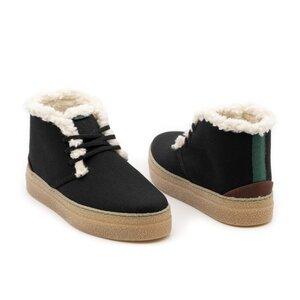 Hoher Wintersneaker VANDANA mit wasserabweisender Oberfläche - Vesica Piscis Footwear