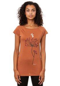 FellHerz Damen T-Shirt Blütenstempel Bio Fair - FellHerz