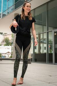 LEGGINGS CARVING BUTTERFLY - OGNX