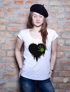 Black Heart T-Shirt - EarthPositive