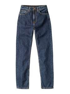 """Damen Jeans Breezy Britt aus 100% biologischer Baumwolle - Waschung """"Dark Stella"""" - Nudie Jeans"""