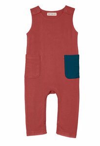 Playsuit Overall organic French Terry  - Organic by Feldman