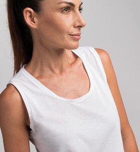 Tanktop für Damen aus Bio-Baumwolle | Weiß - CasaGIN
