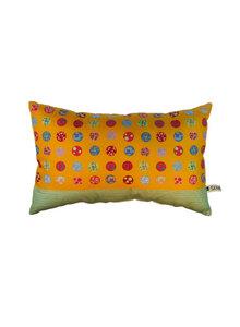 Kissen bedruckt aus Biobaumwolle - Sekai Colori