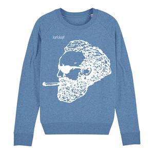 Sweatshirt - Bedruckter Damen Sweater aus Bio-Baumwolle ROCKER - karlskopf