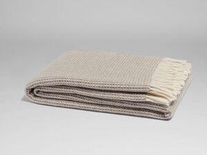 Decke Wolle Pied-de-poule 150x210 - Yumeko