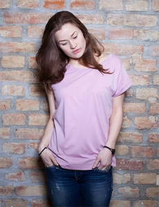 Parade Twisted Neck T-Shirt - Stanley & Stella