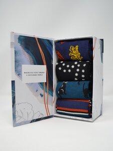 Damen Bambussocken Petronille Geschenkbox 4er Pack - Thought
