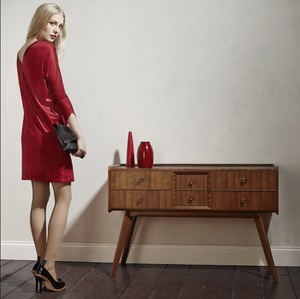 ALMANA Dress RED - Komodo