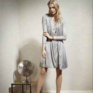 ELSETTA Dress GREY - Komodo