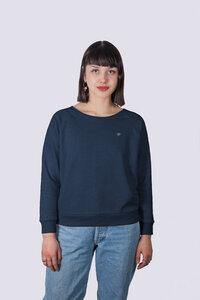 Premium Damen Sweatshirt aus Bio Baumwolle, Fair, Vegan, Nachhaltig - vis wear