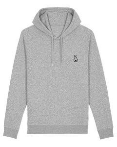 """Unisex Hoodie aus Bio-Baumwolle """"Logo"""" Stickerei - Bretter&Stoff"""