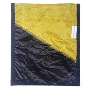 Handgearbeitete Notebook-Tasche / Hülle Notebook Sleeve aus Segeltuch Kitesegel UNIKAT 15 Zoll - Beachbreak