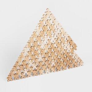 Flockmen - kreative steckbare Holz-artisten (-figuren) aus 100% Birkenholz - Flockmen