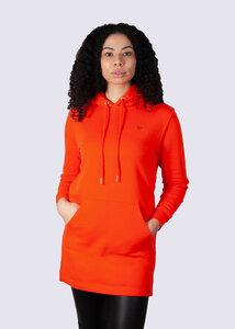 Damen Long Pulli, Kapuzenkleid, Sweatshirt Kleid,  Pullover aus Bio Baumwolle - vis wear