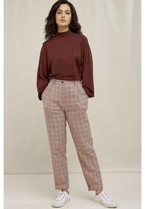 Annis Houndstooth Trousers - People Tree