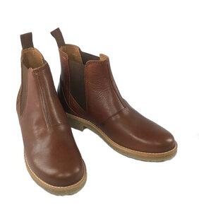 Chelsea Boots Astrid aus Leder mit Lederfutter - Ten Points