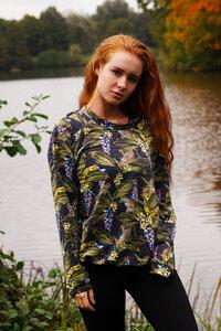 "Buntes Sweatshirt  ""Africa Sparkling"" - Flying Love Birds"