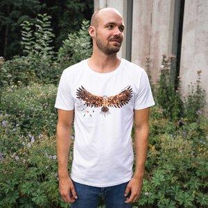 GOTS - Herren Shirt Adler - CircleStances