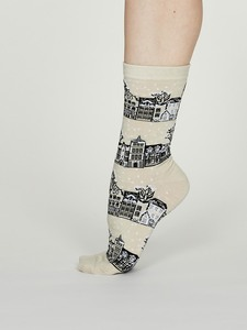 Damen Socken aus Biobaumwolle Godelena Socks - Thought