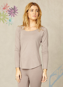 Bamboo Basics Tee Pebble - Braintree