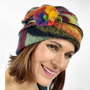 Duo-Mütze Pica multicolor - AnRa Mode
