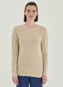 Damen Pullover aus Bio-Baumwolle Rundhalsausschnitt - ORGANICATION