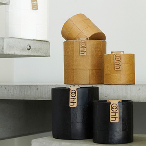 Recyclingübertopf - 'Braid Cylinder' (small) - Oohh