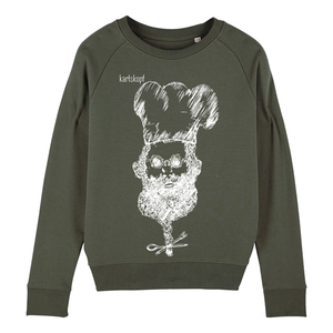Sweatshirt - Bedruckter Damen Sweater aus Bio-Baumwolle KOCH - karlskopf