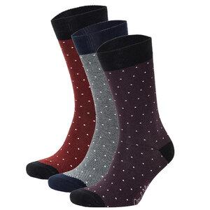 3er Set Pique Pattern Socken Biobaumwolle - Opi & Max