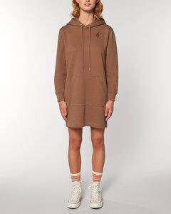 """Langärmeliges Bio Damen Sweatshirt-Kleid mit Kapuze """"Select - HF"""" - Human Family"""