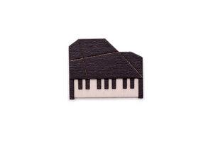 "Brosche aus Holz ""Piano  Brooch"" - BeWooden"