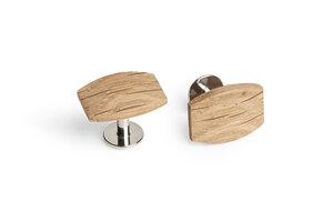 "Manschettenknöpfe ""Oak Cuff"" aus Holz - BeWooden"