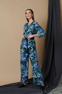Joi Blumen Print Jumpsuit - M.R BRAVO