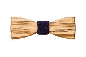 Männer Fliege aus Holz | Holzfliege Sand Bow Tie  - BeWooden