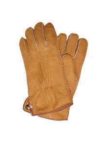 Naturfell Damen Lammfell Finger-Handschuhe Luxus - Naturfell Paradies