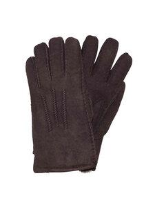 Naturfell Damen Lammfell Finger-Handschuhe - Naturfell Paradies
