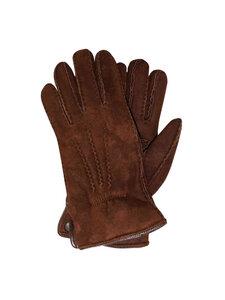 Naturfell Herren Lammfell Finger-Handschuhe Luxus - Naturfell Paradies